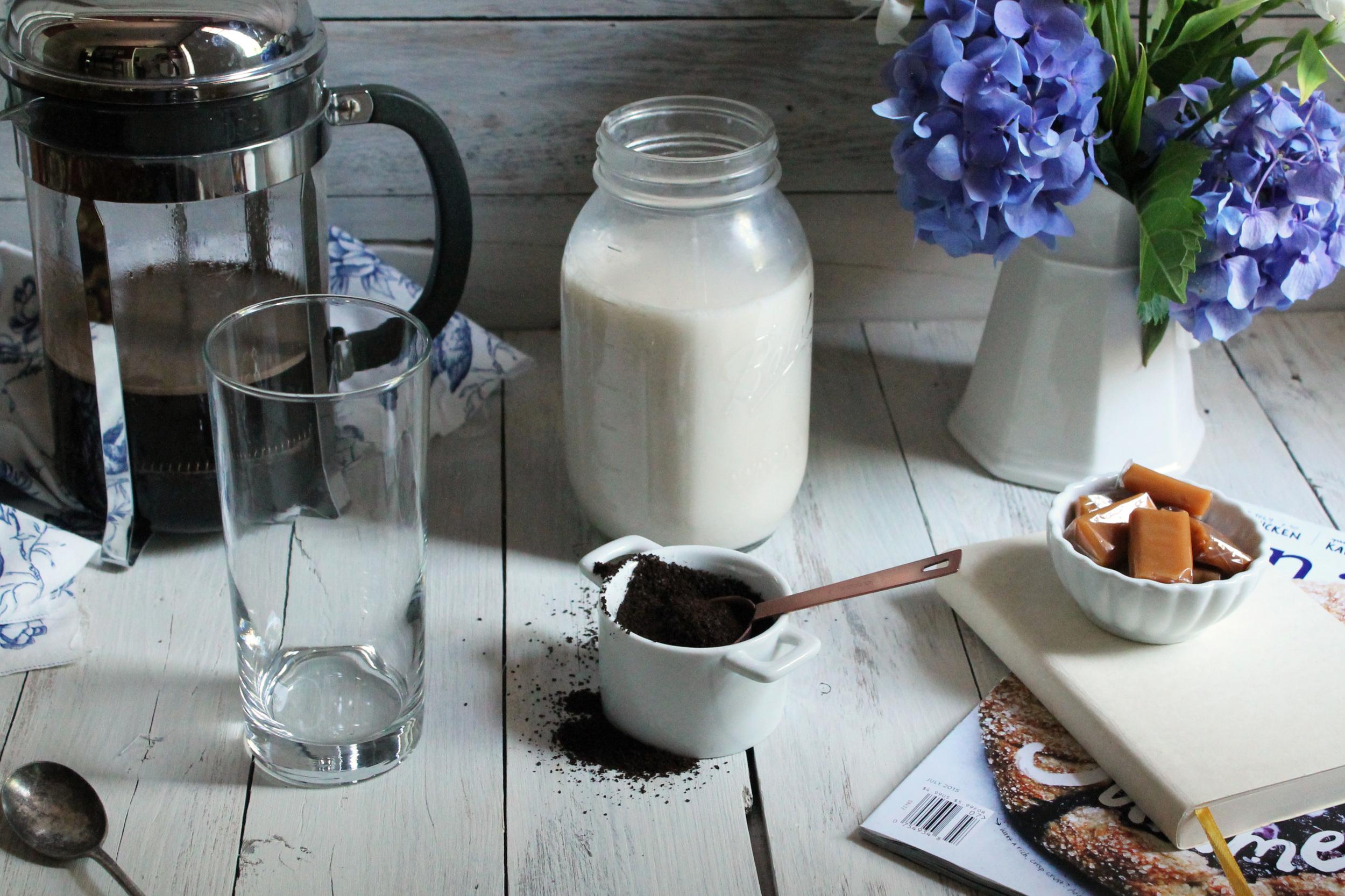 Coffee Granita with Almond Milk {Pedantic Foodie}