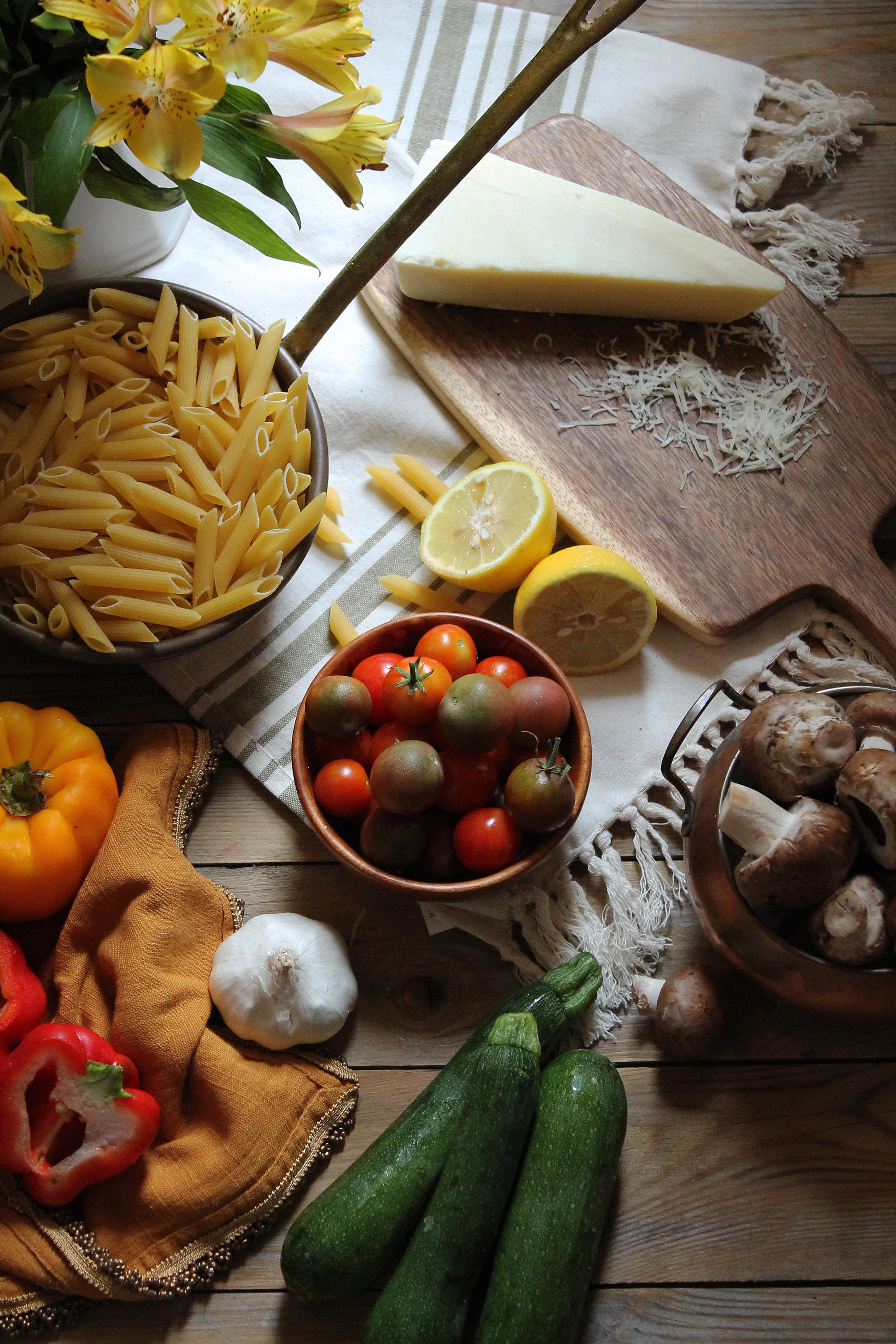 Summer Vegetable Pasta {Pedantic Foodie}