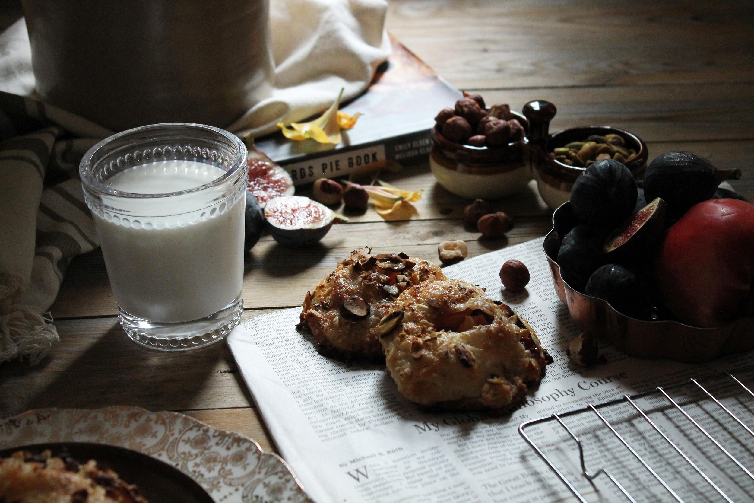Fig & Nectarine Hand Pies {Pedantic Foodie}