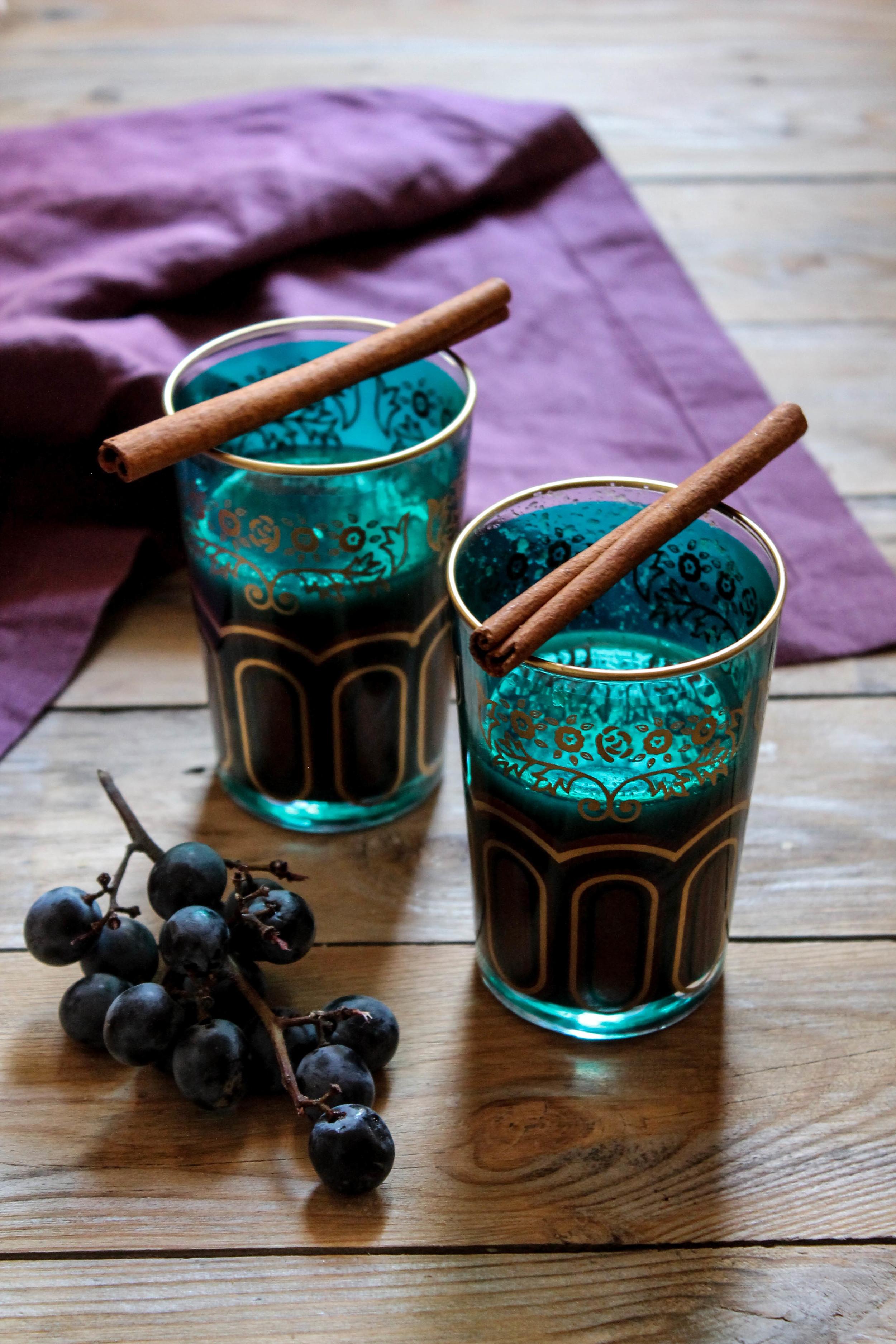 Spiced Grape Cider {Pedantic Foodie}