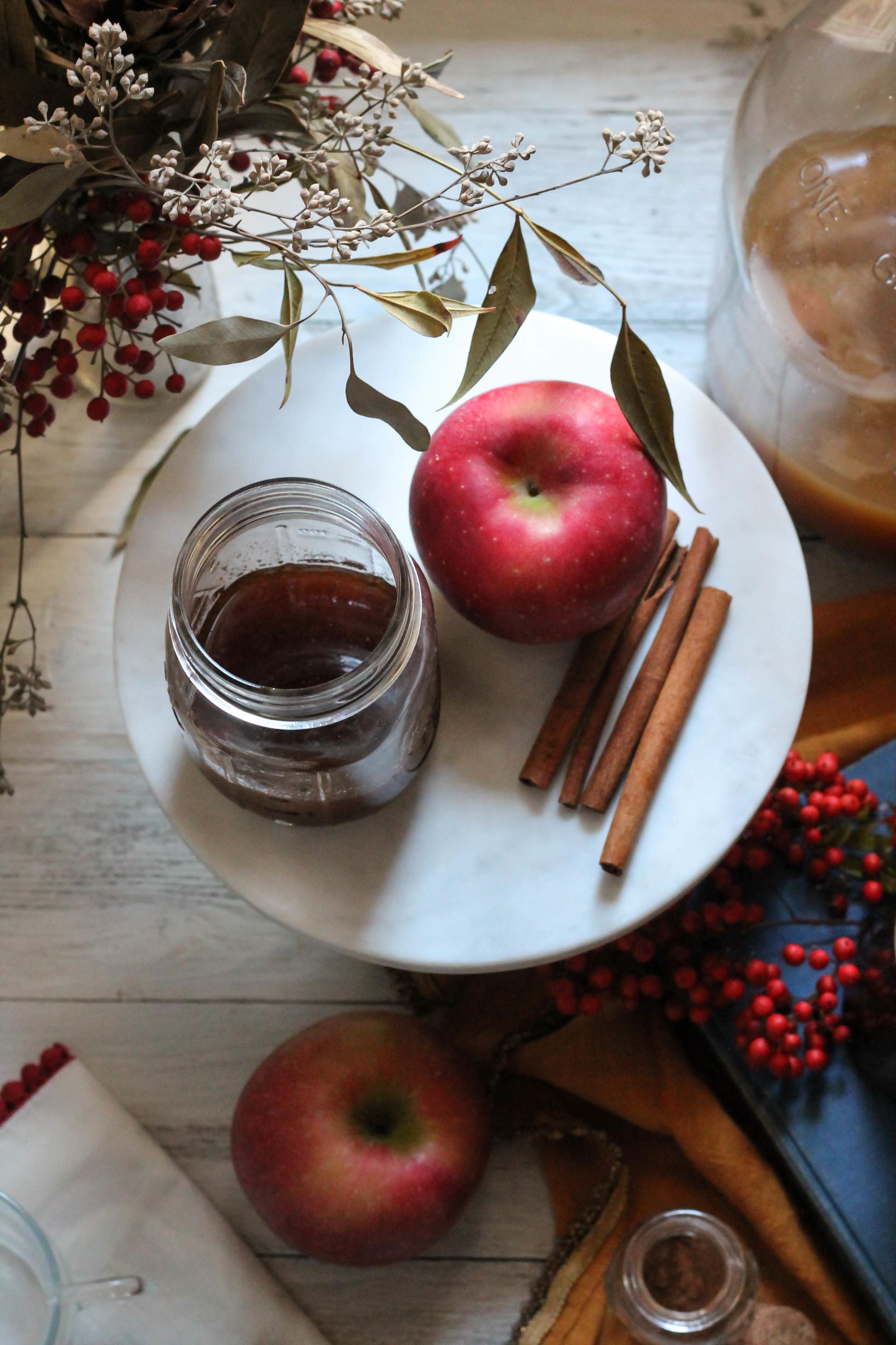 Apple Pie Latte {Pedantic Foodie}