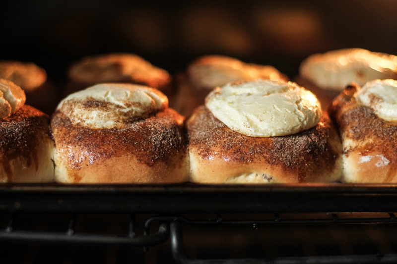 Cinnamon Sugar Cheese Buns {Pedantic Foodie}