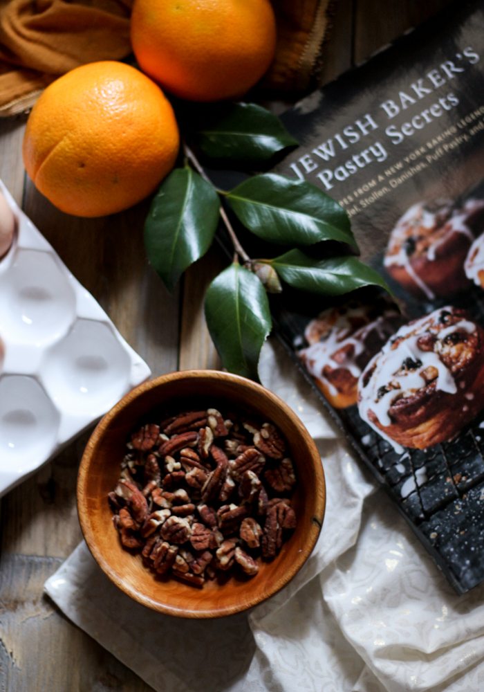 Orange Glazed Bundt with Dark Chocolate & Pecans {Pedantic Foodie}