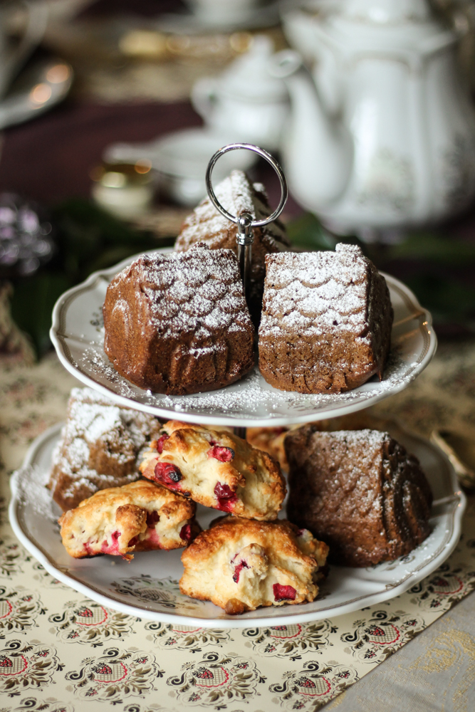 Downton Abbey Tea Party {Pedantic Foodie}