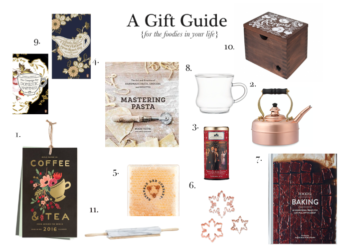 A Gift Guide for Foodies {Pedantic Foodie}