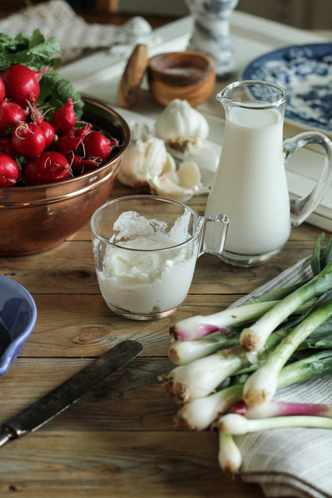 Spring Onion Buttermilk Ranch Dip {Pedantic Foodie}