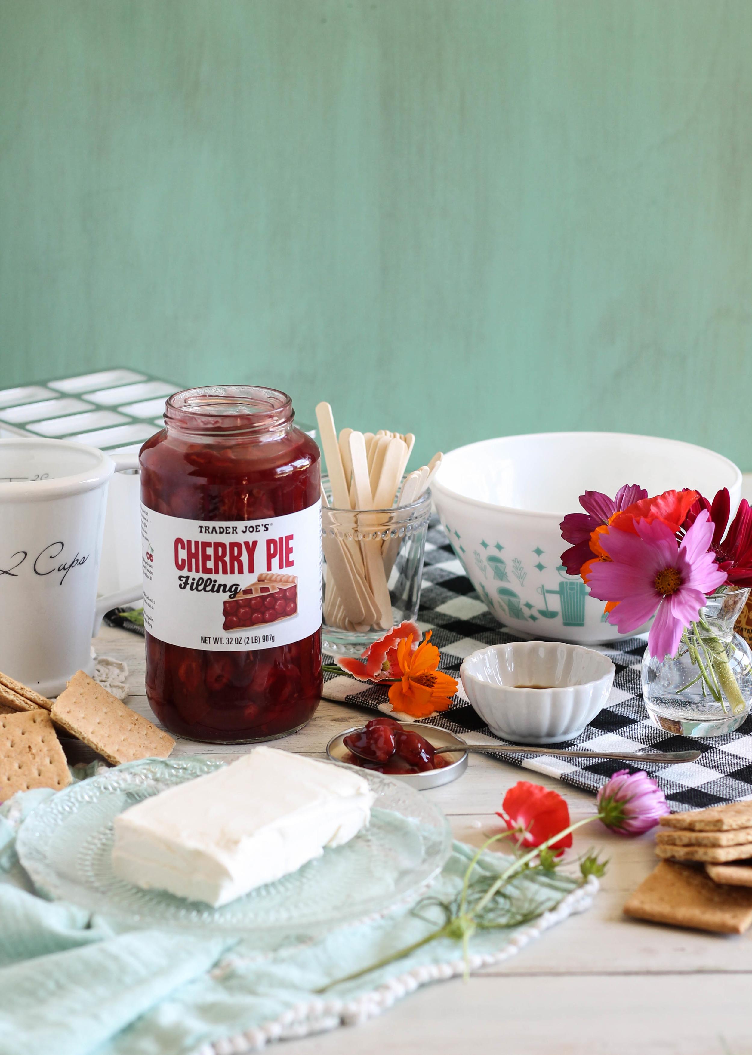 Cherry Pie Pops {Pedantic Foodie}