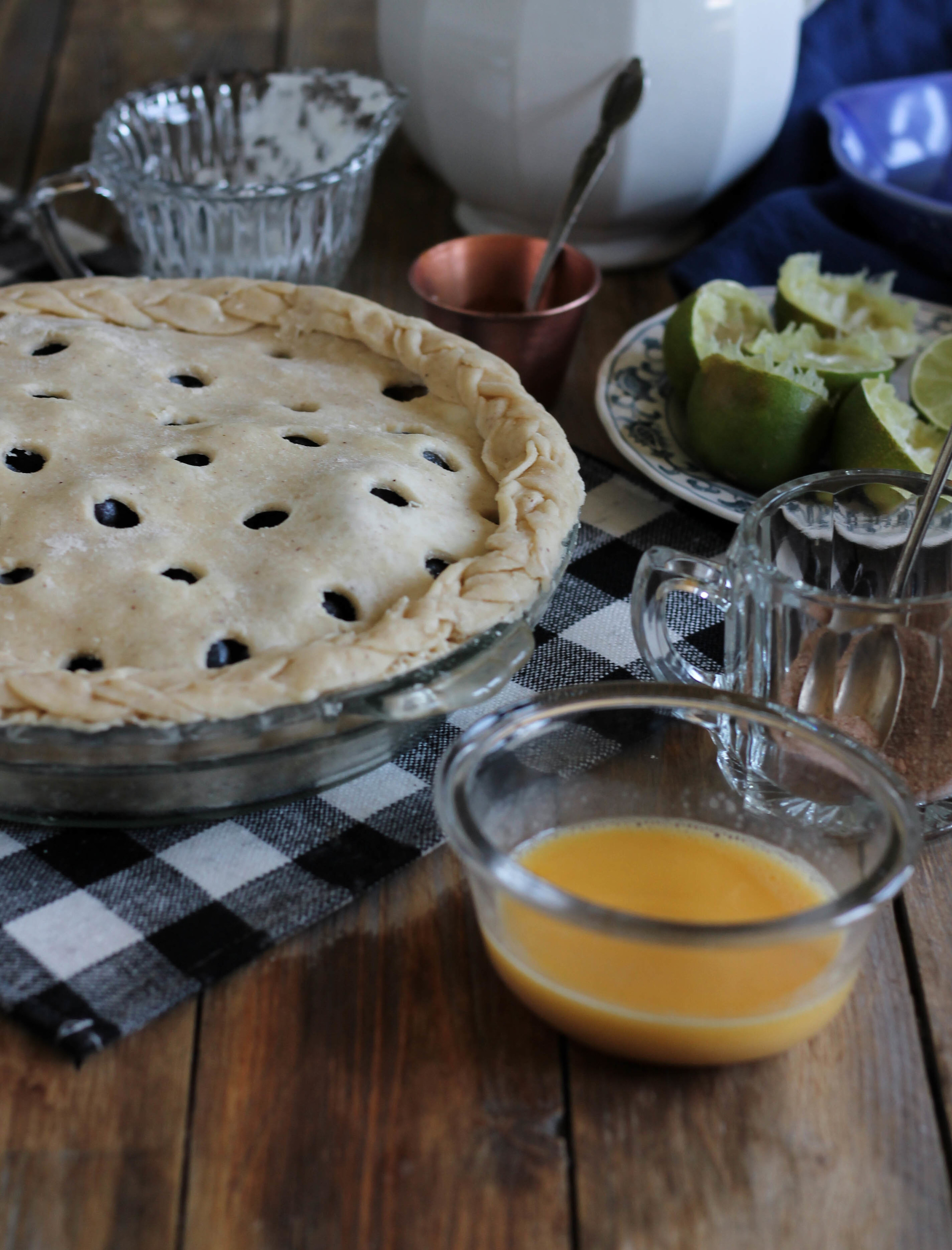 Blueberry Pie {Pedantic Foodie}