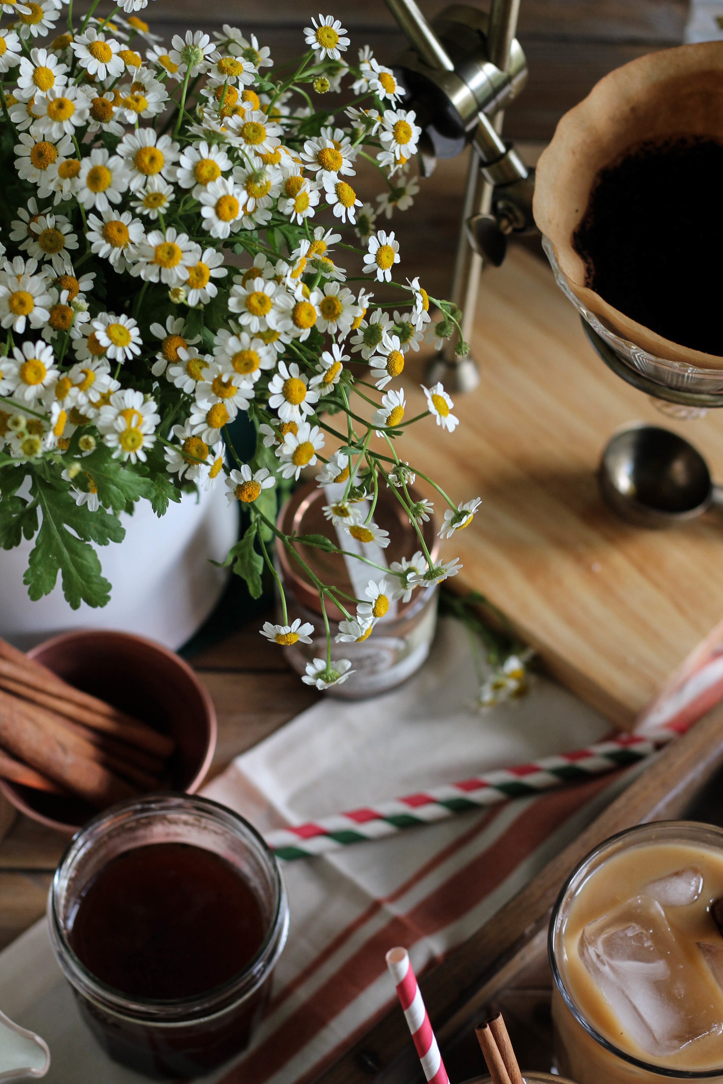 Vanilla Spiced Iced Coffee // World Market + Pedantic Foodie