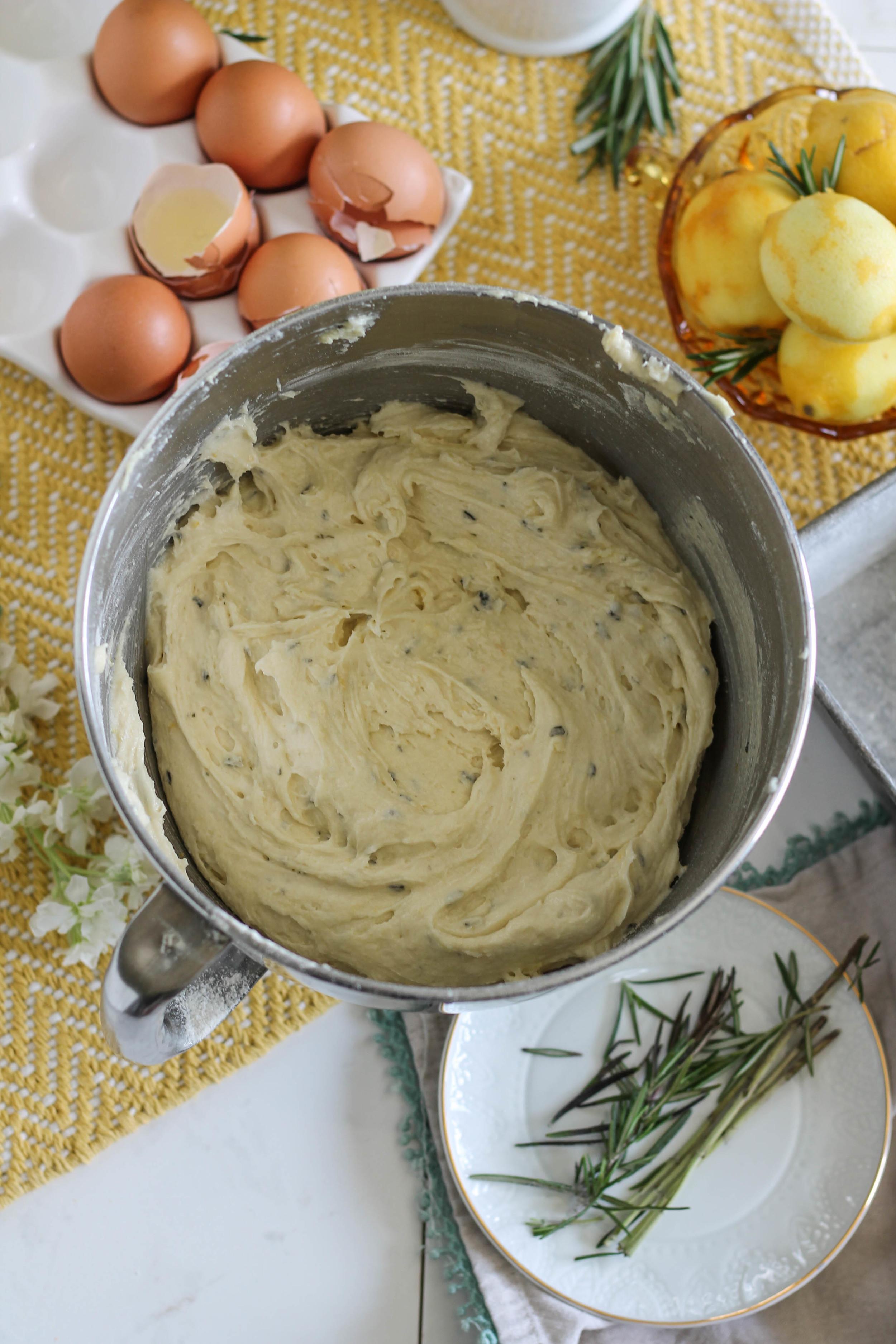 Lemon Rosemary Buttermilk Cake {Pedantic Foodie}
