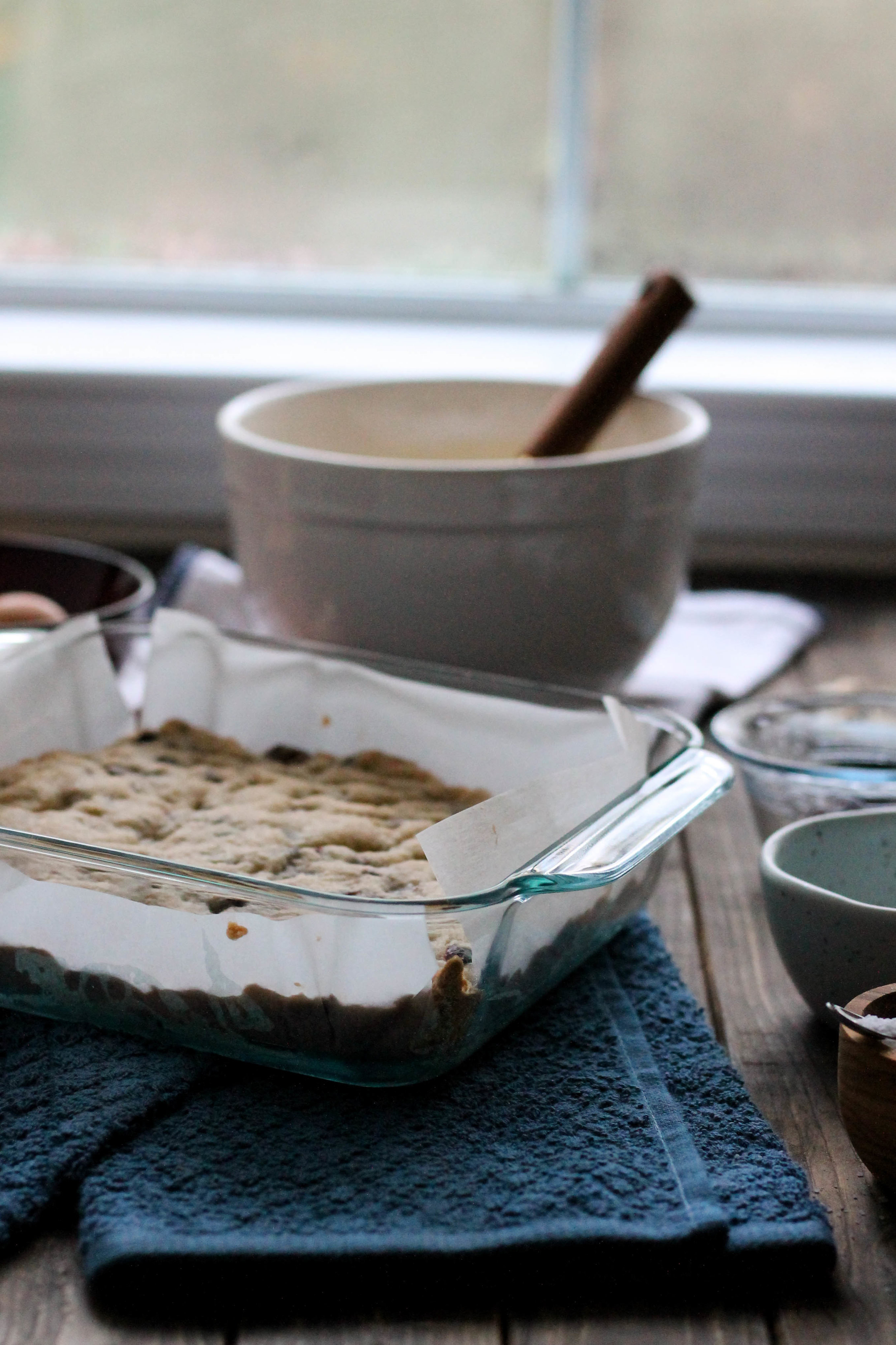 Pecan Pie Bars with Cranberry Dark Chocolate Shortbread {Pedantic Foodie}