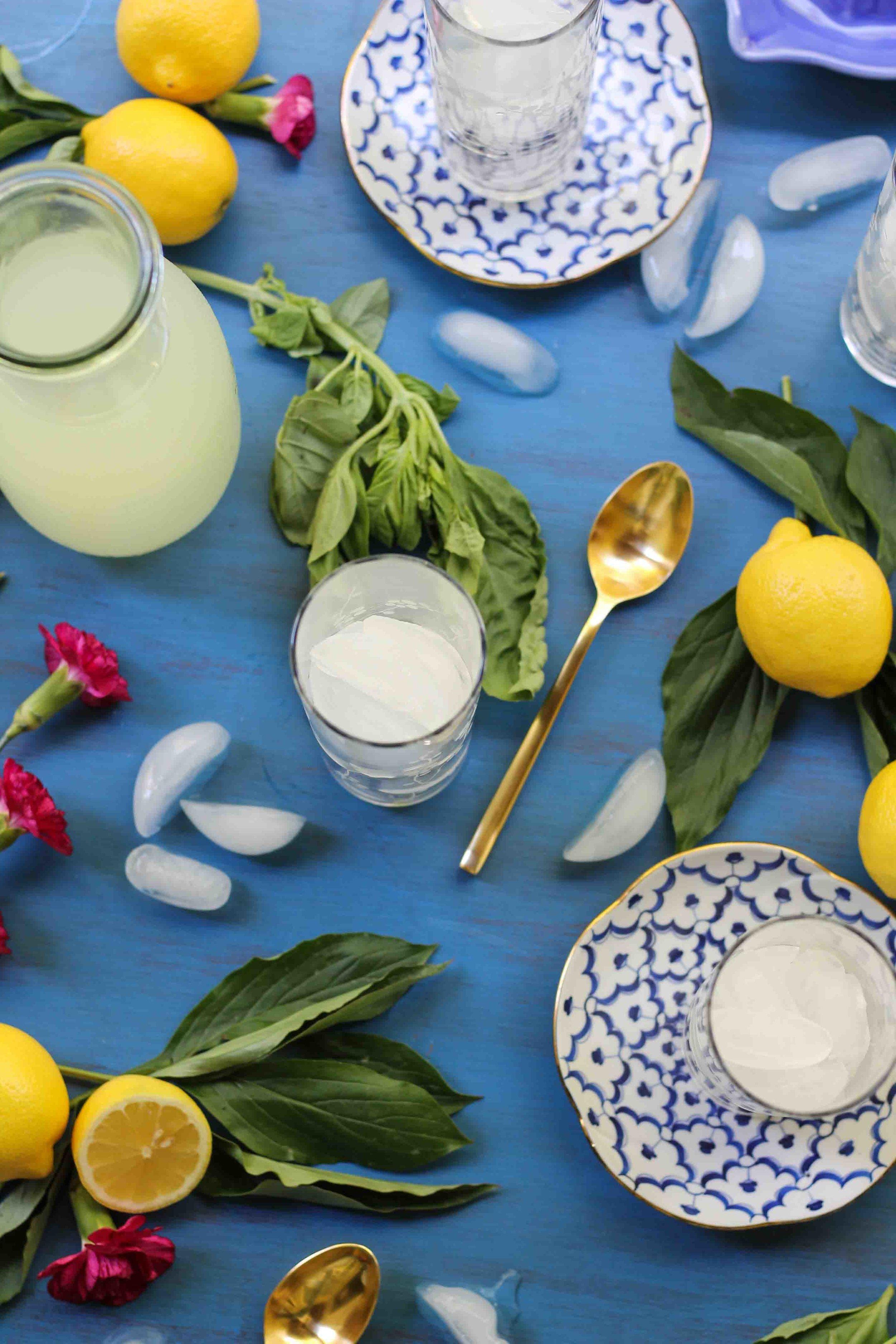 Basil Lemonade {Pedantic Foodie}