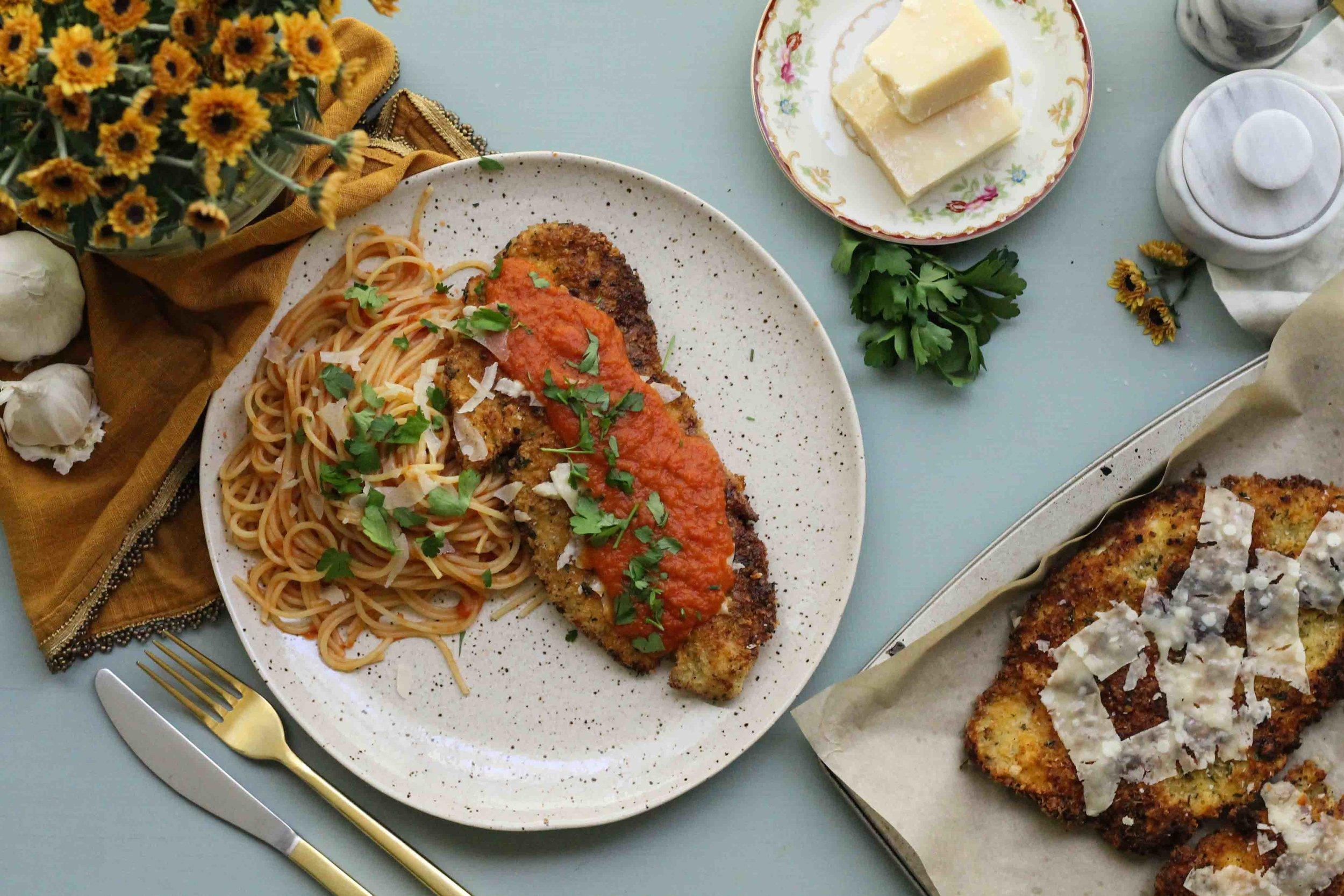 The Very Best Chicken Parmesan {Pedantic Foodie}