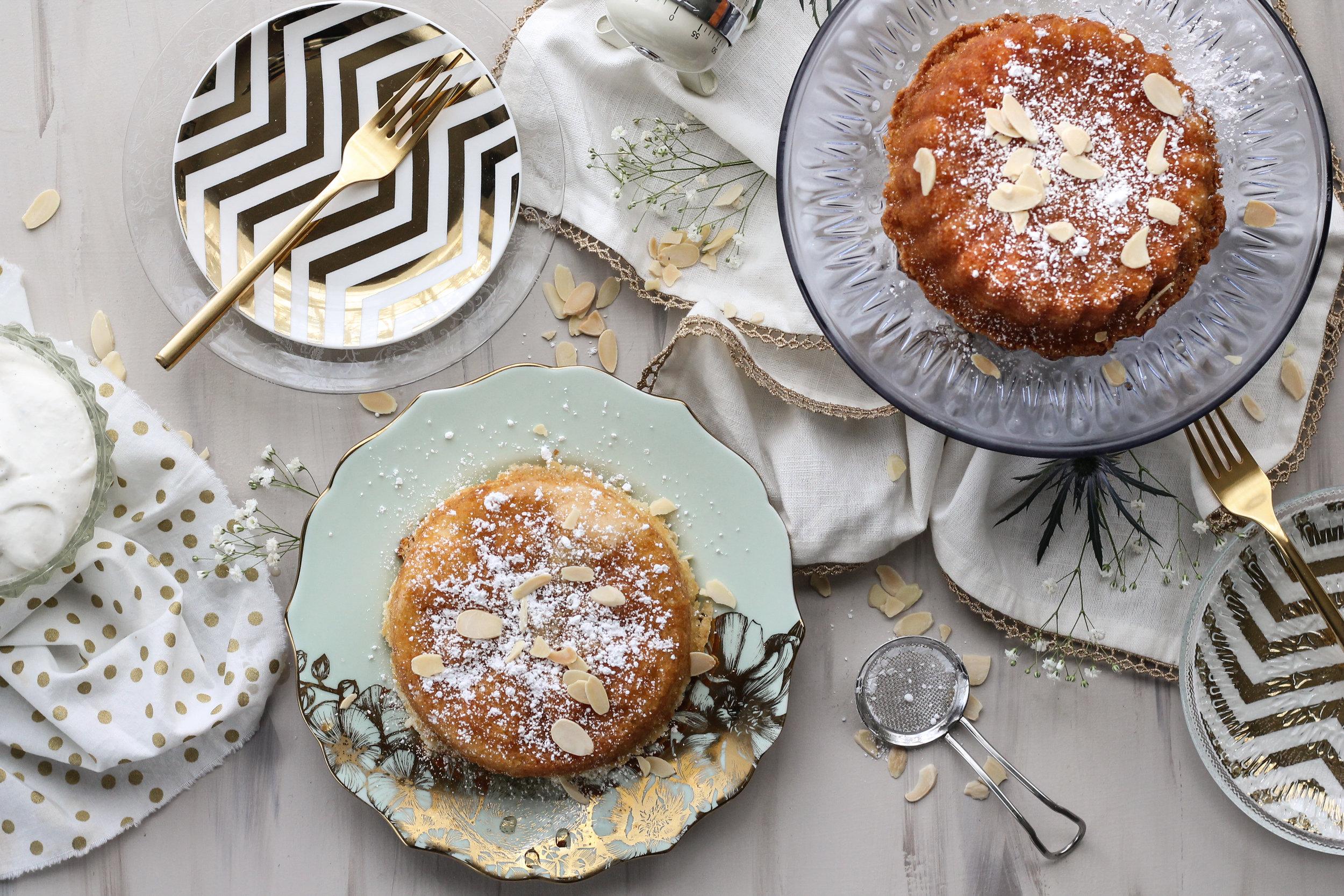 Miniature Almond Amaretto Cakes [ www.pedanticfoodie.com ]