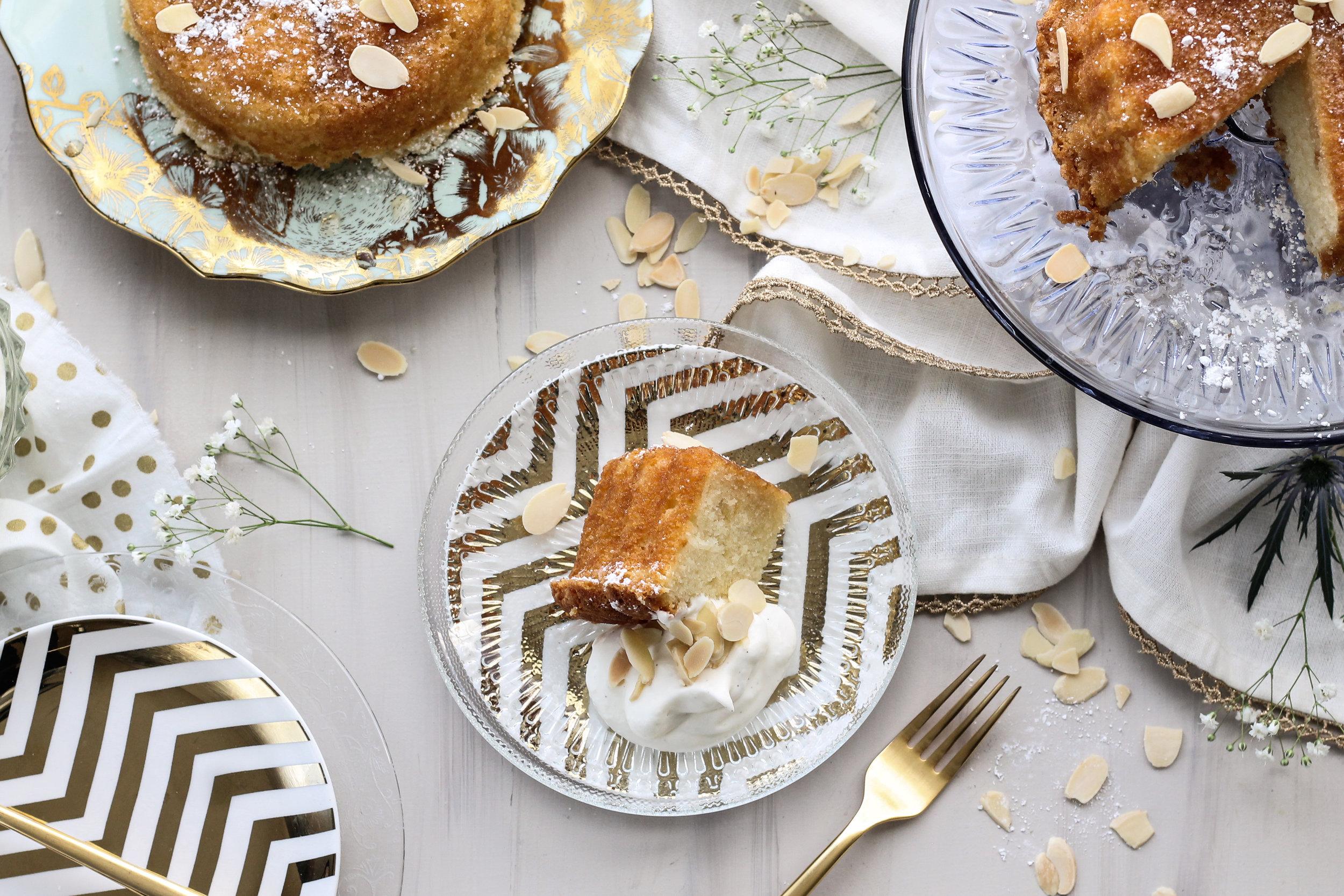 IMG_4011.jpgMiniature Almond Amaretto Cakes [ www.pedanticfoodie.com ]