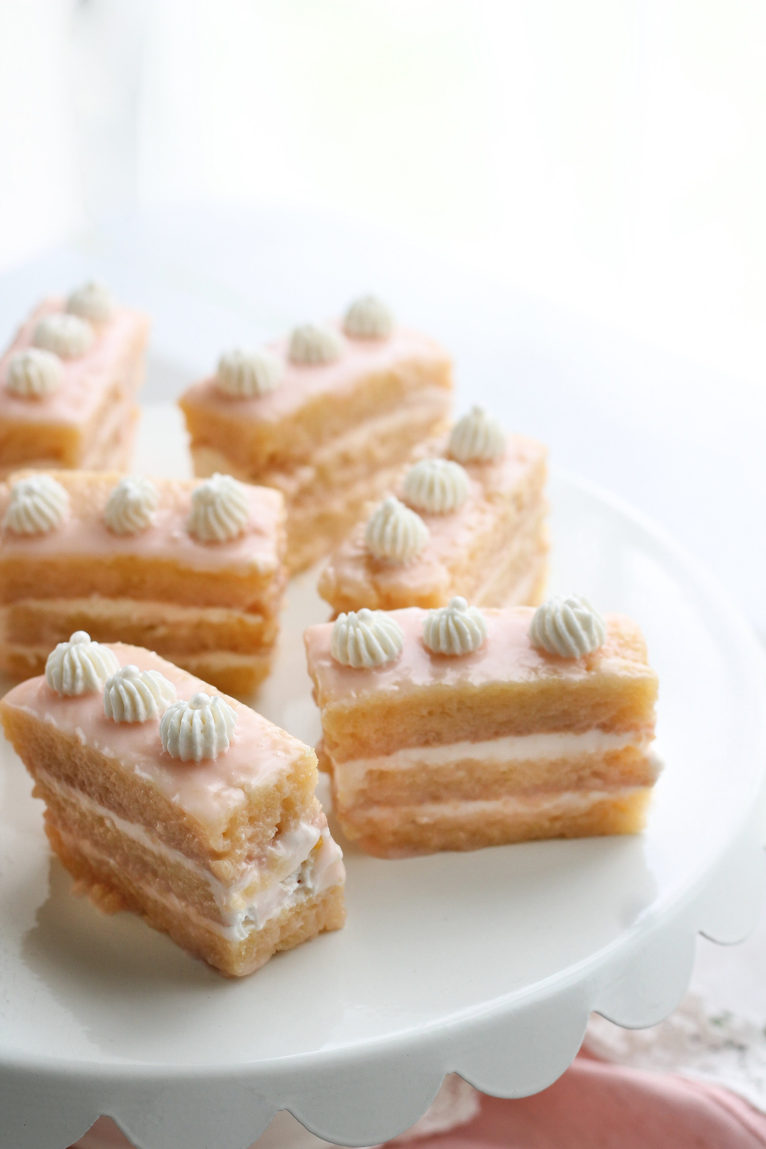 These Gluten-Free Almond-Vanilla Petit Fours are fool-proof and sure to impress! [ www.pedanticfoodie.com ]