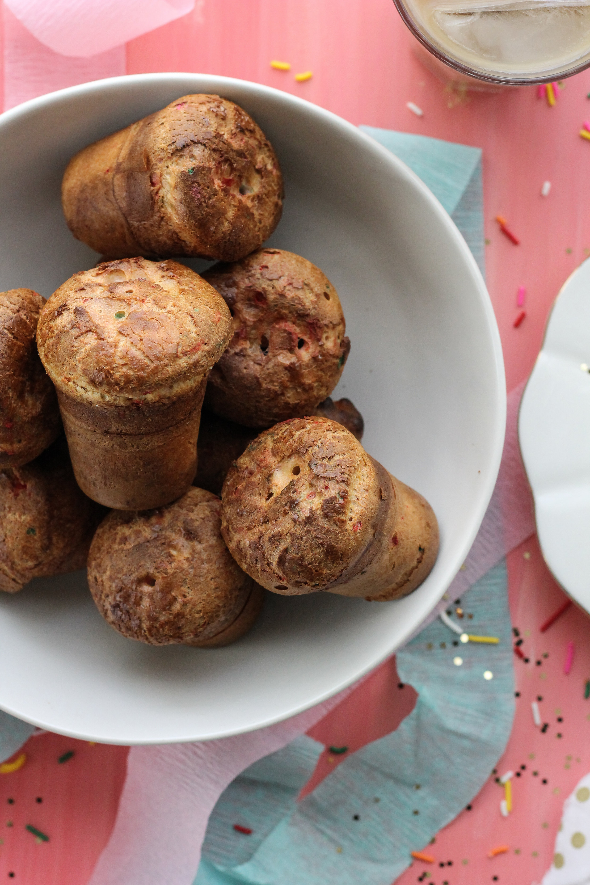 These funfetti popovers are the perfect way to celebrate! [ www.pedanticfoodie.com ]