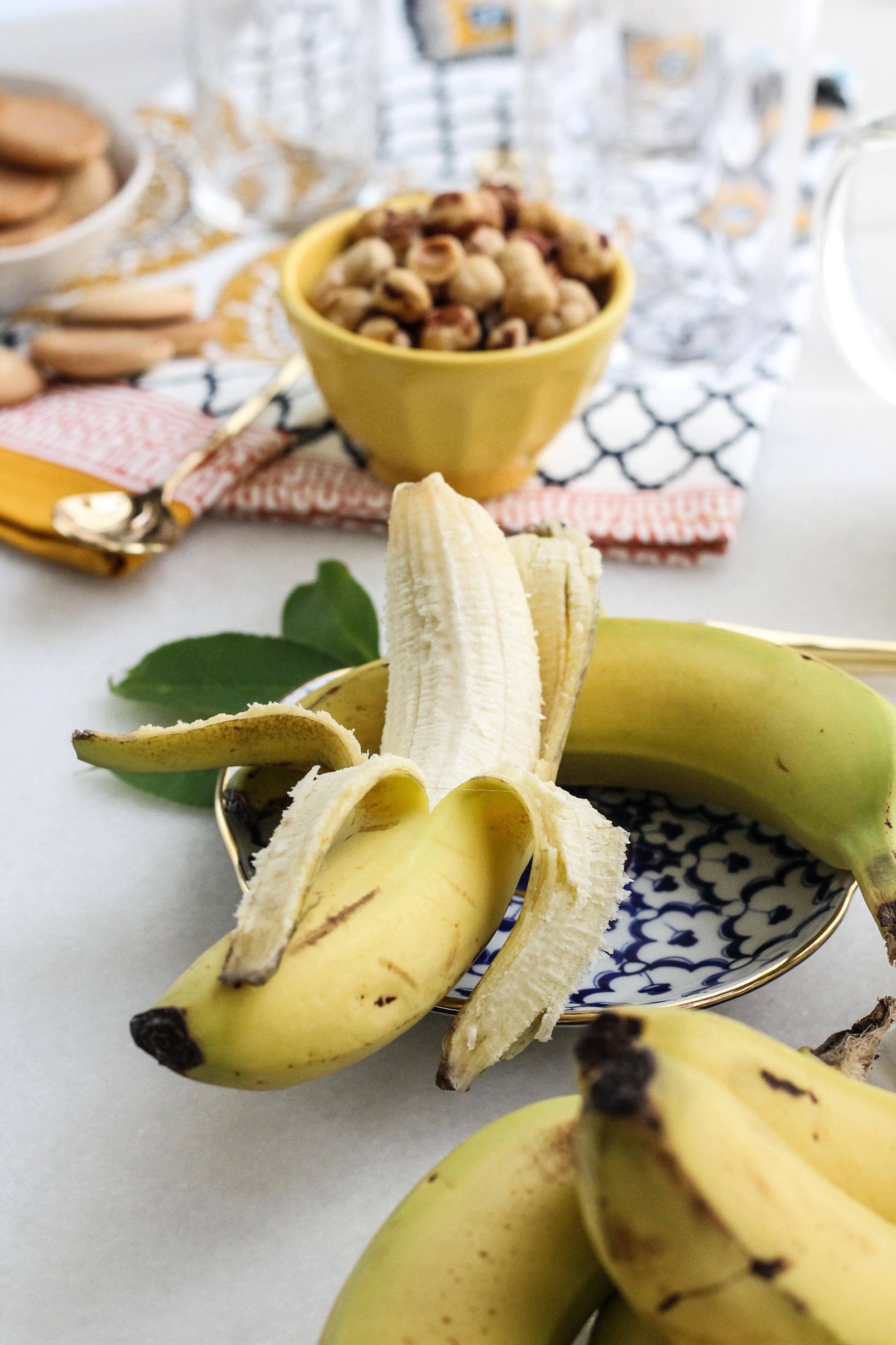Rum & Hazelnut Banana Pudding Trifles [ WWW.PEDANTICFOODIE.COM ]