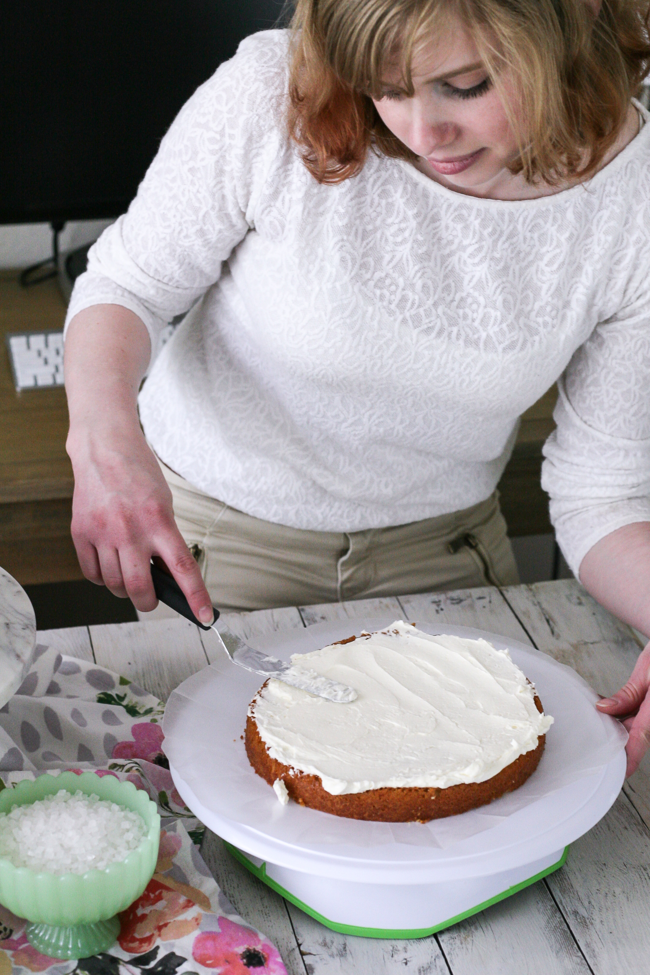 An approachable, step-by-step guide to making your own gorgeous geode cake at home! [ www.pedanticfoodie.com ]