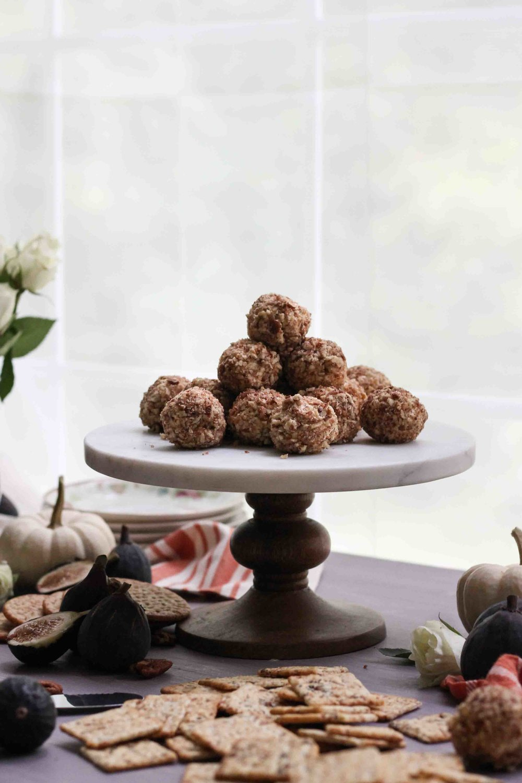 Stilton & Pecan Truffles [ www.pedanticfoodie.com ]