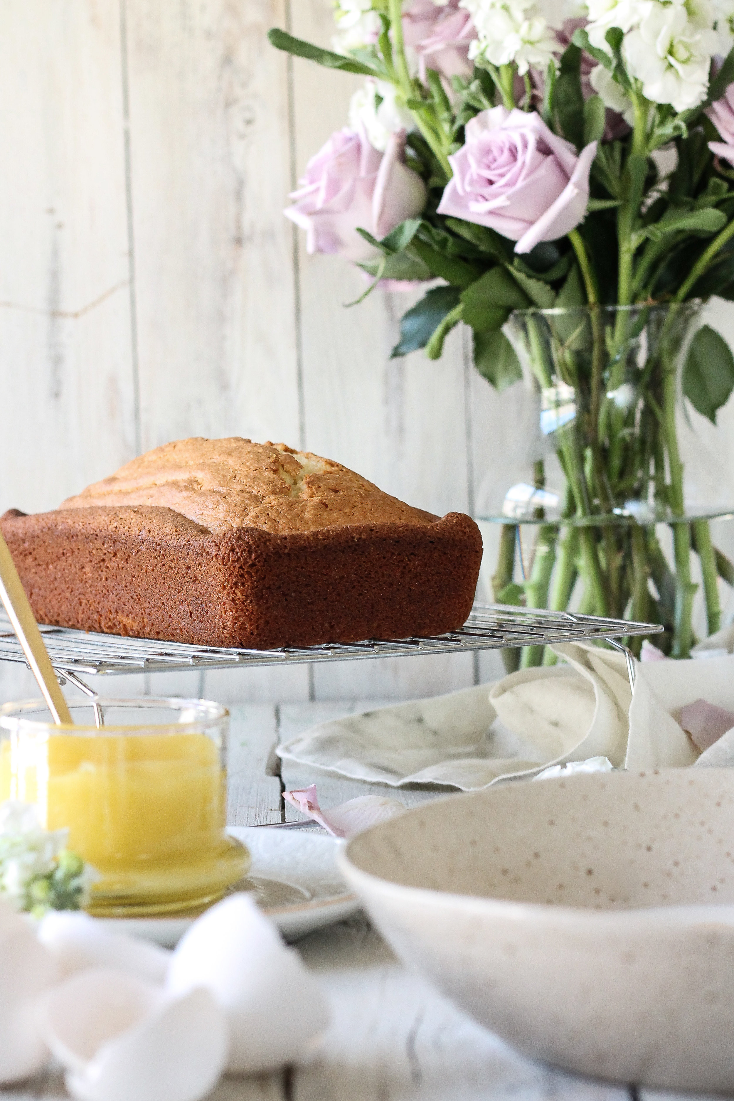 Who knew cake could get any better?  This Pan-Fried Almond-Crusted Pound Cake makes all of your dreams come true!  Find the recipe on www.pedanticfoodie.com!!