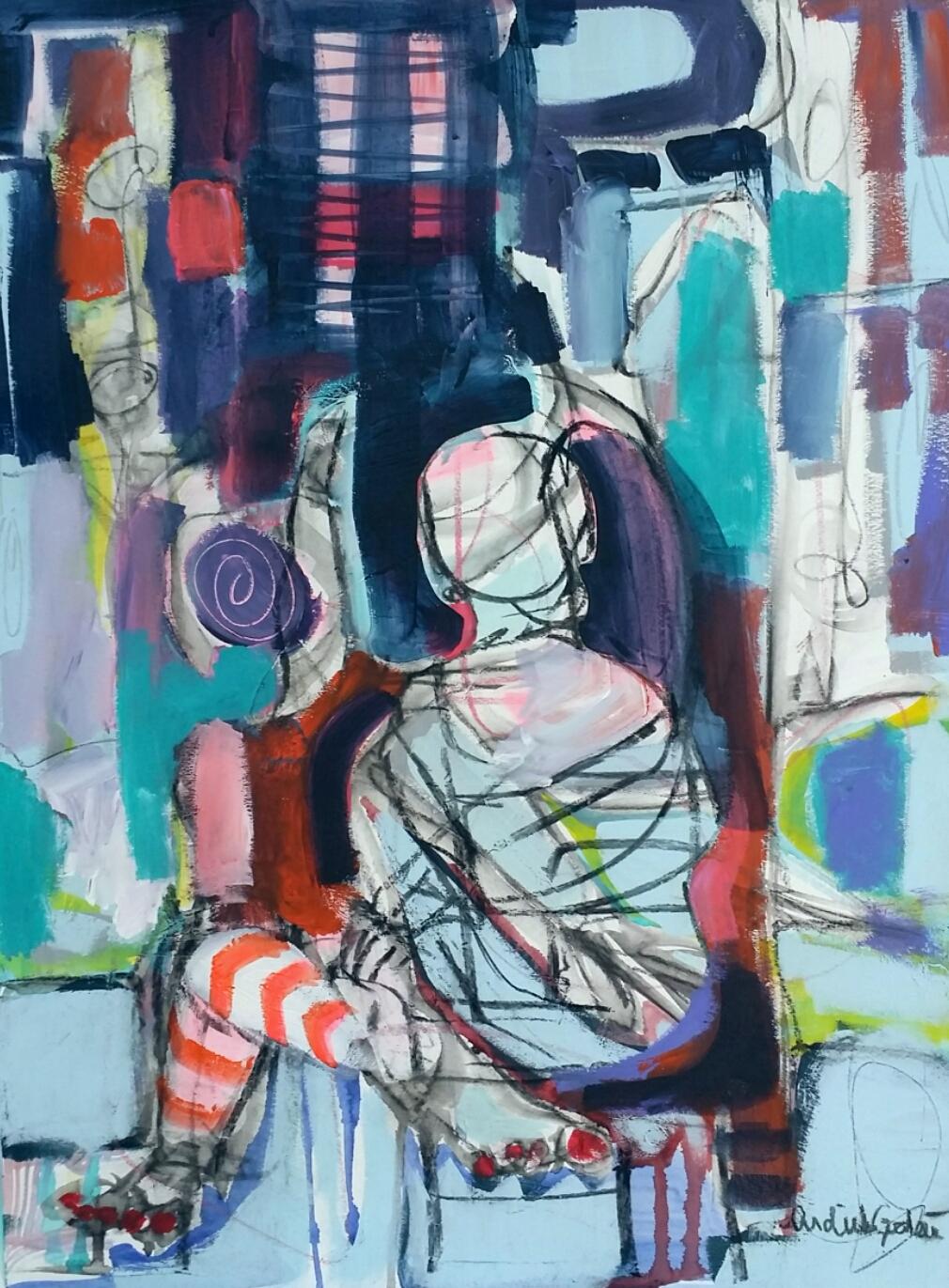 Figure Study II by Ardith Goodwin