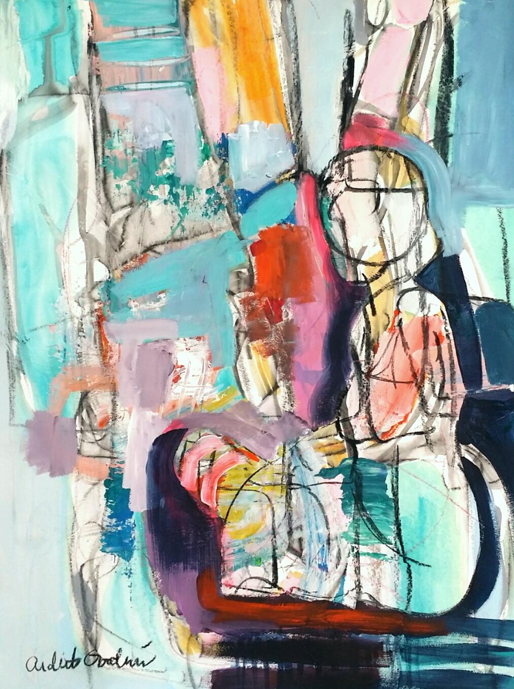 Figure Study III by Ardith Goodwin