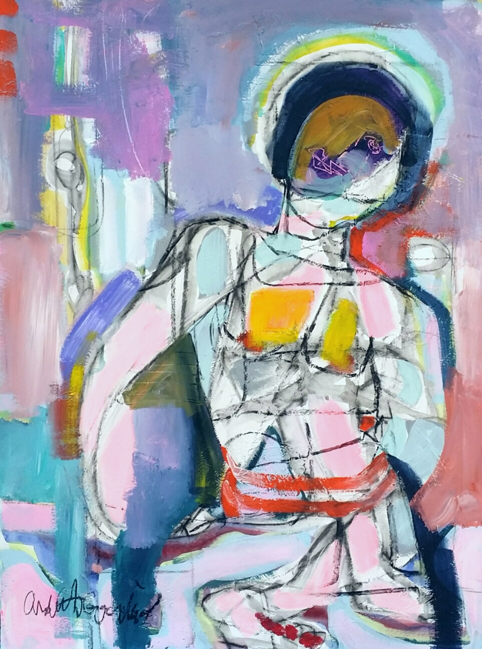 Figure Study IV by Ardith Goodwin
