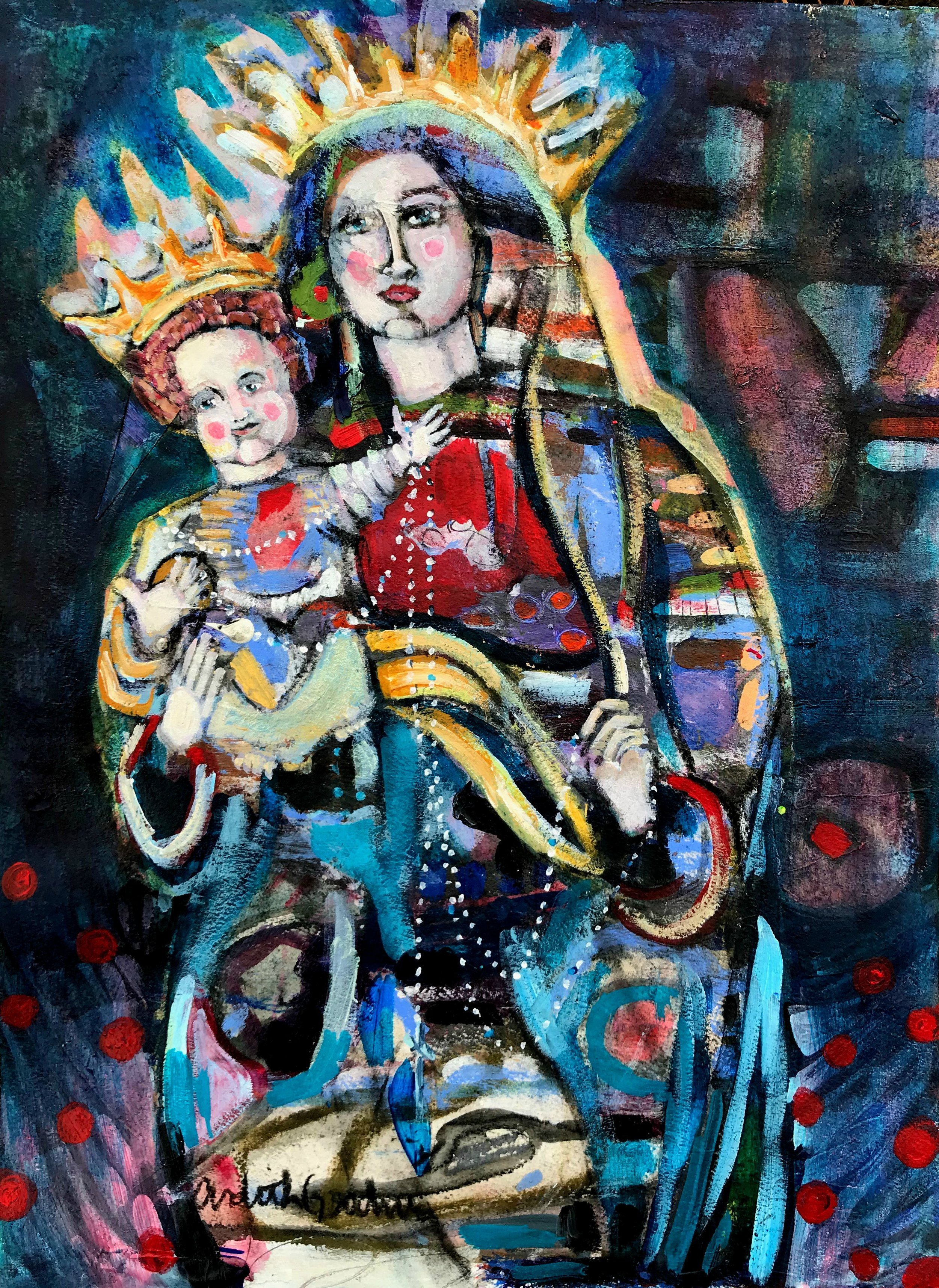 Madonna and Child IV by Ardith Goodwin