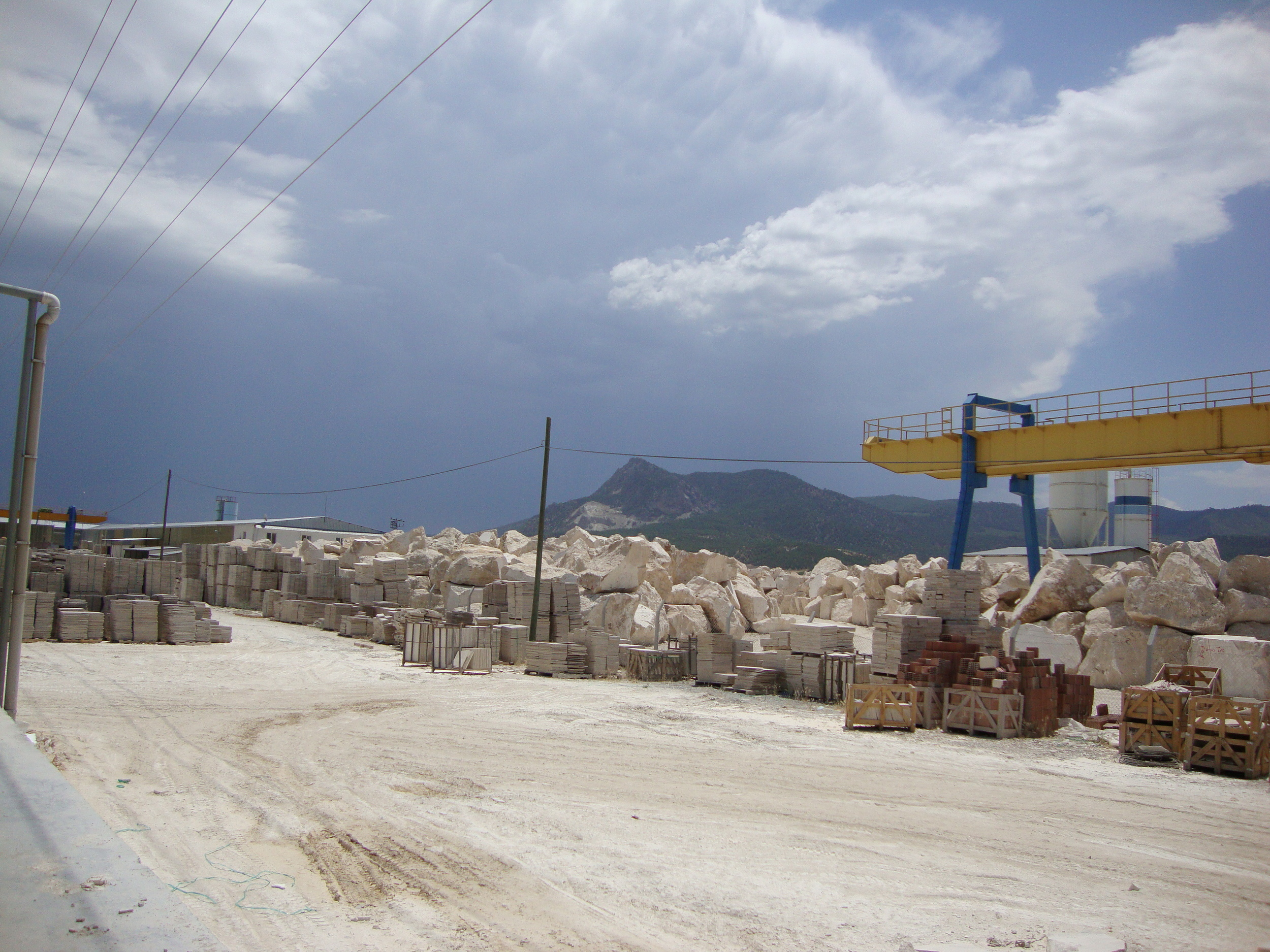 Visiting Turkey for a travertine order