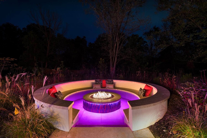Modern Designed Fire Pit
