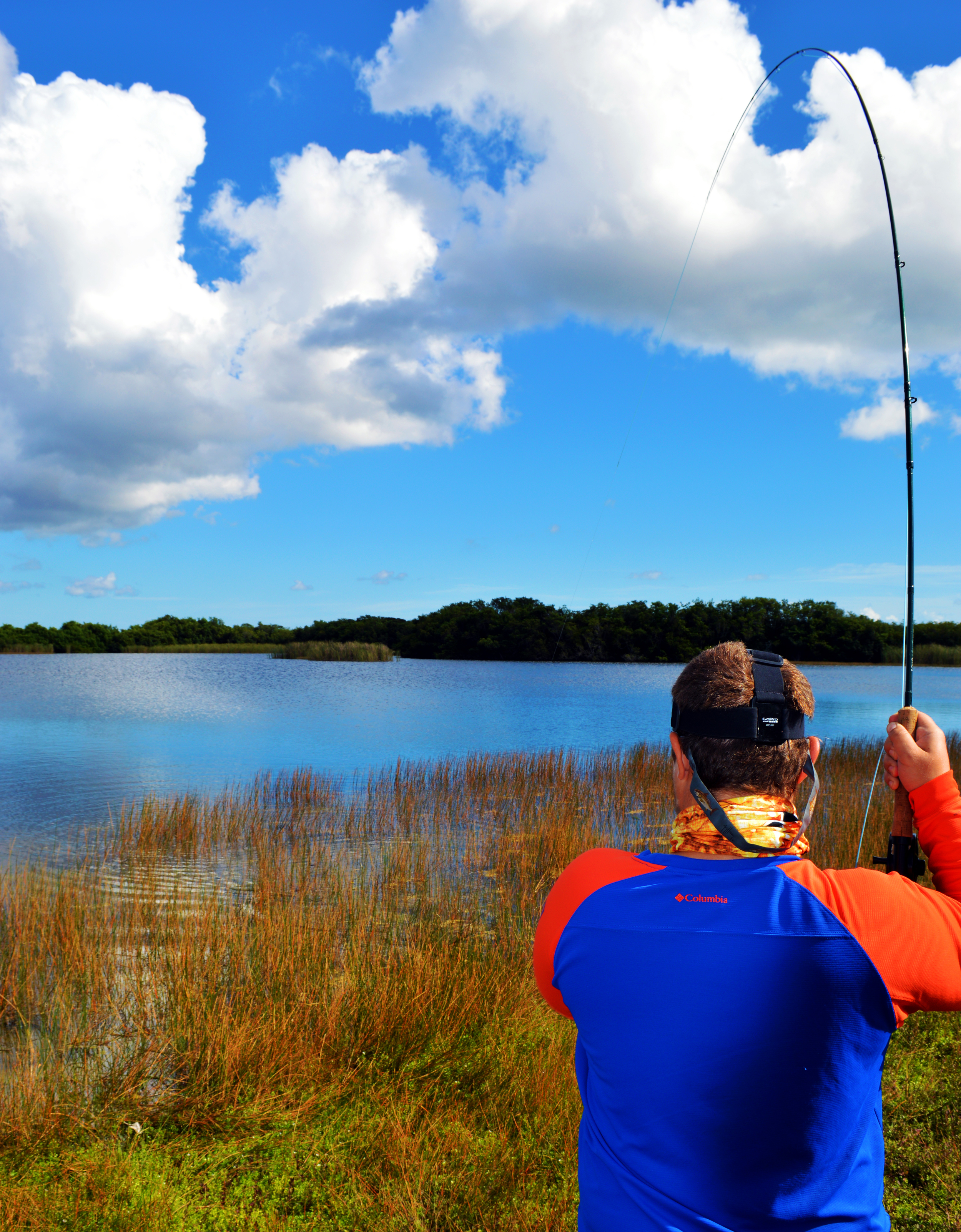 Trey Dyer Hooked up in the backwaters of Florida