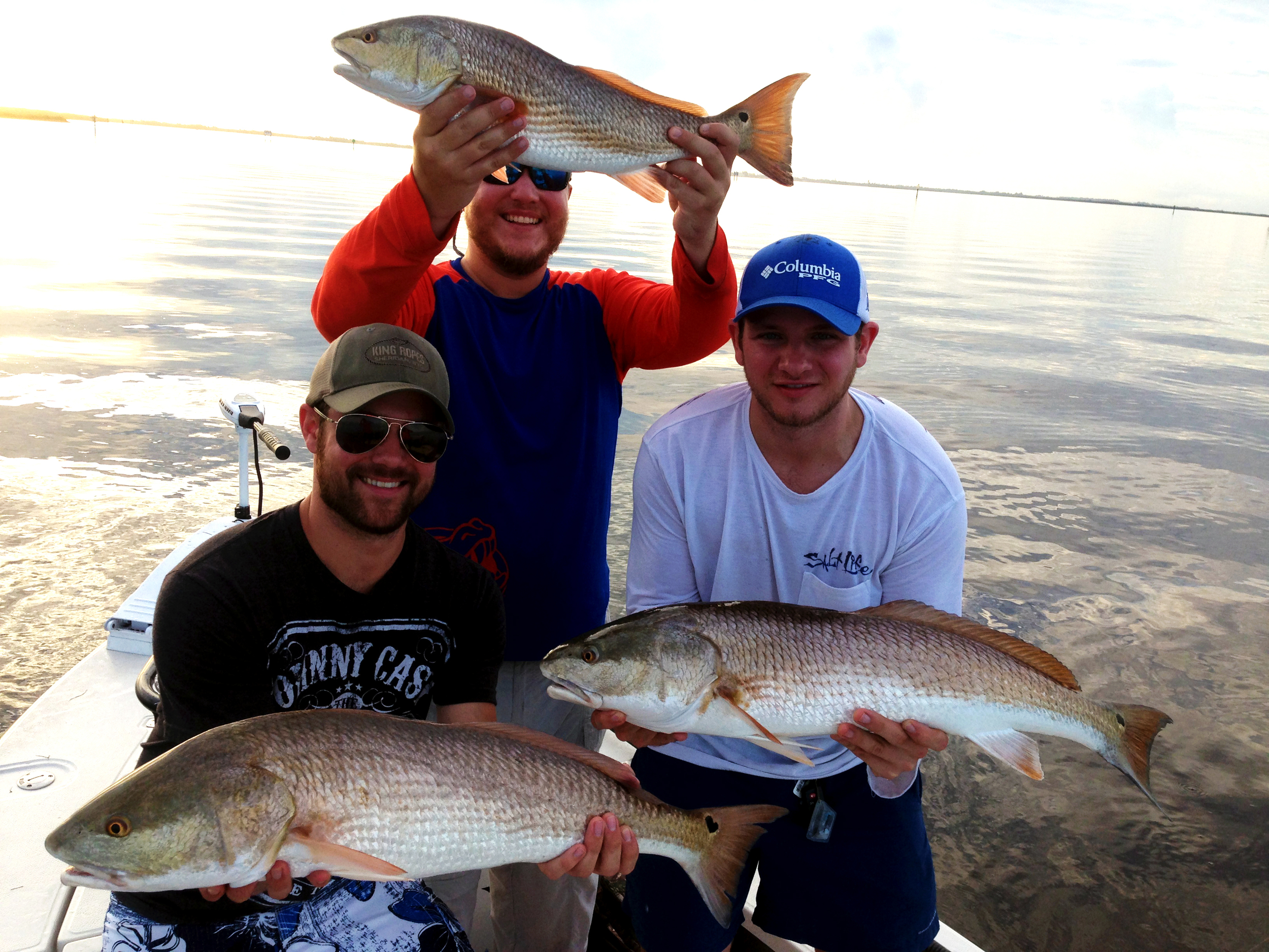 Barry and friends on their Get Local Fishing Charter -  Click here to book a fishing trip
