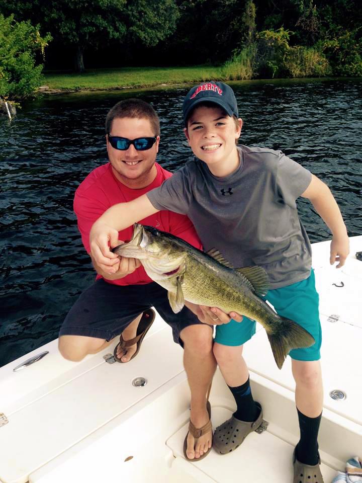 Josh Hamlin bass fishing family trip.jpg