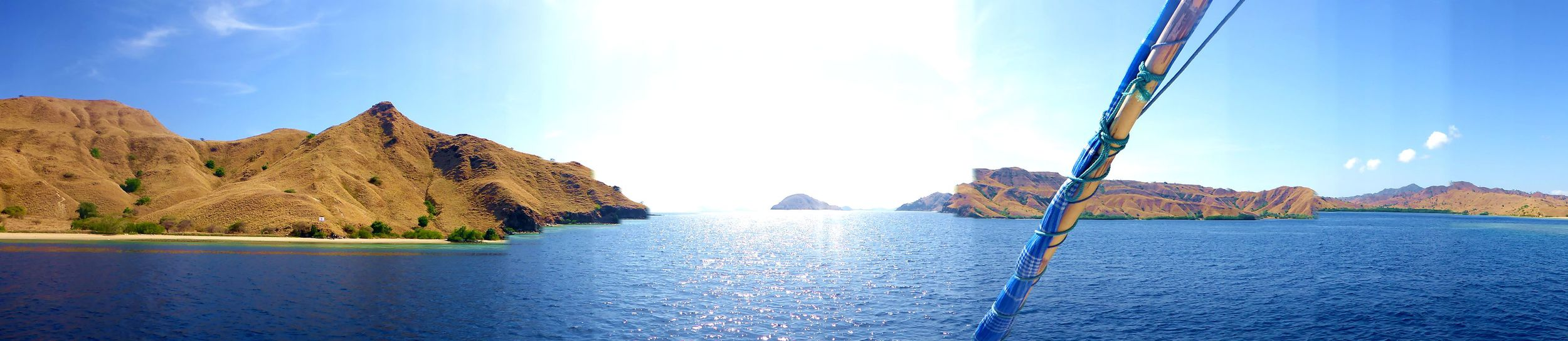 Three day boat tour from Lombok to Komodo Island in Indonesia