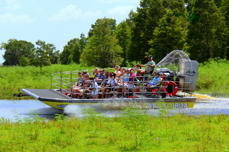 Wild Florida Group Package Airboats and Gators