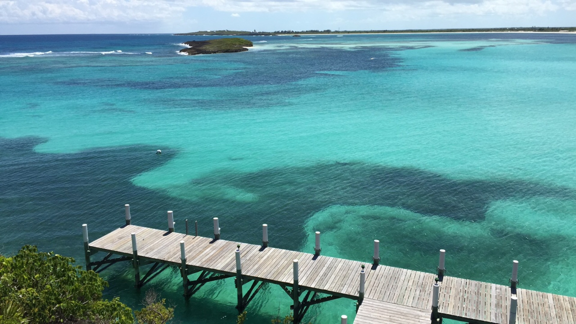 The view of WInding Bay at Abaco Club- Photo by Mythy Tran