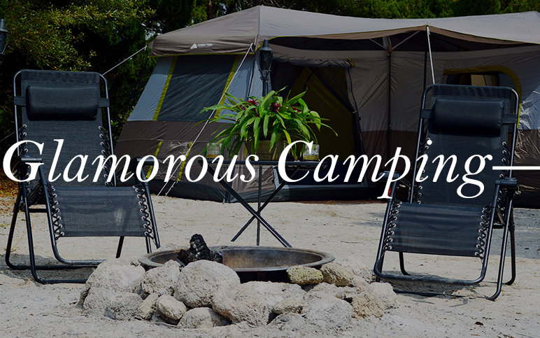 So. Damn. Classy. Our Glamorous Camping trips are a treat for anyone. Delicious food, comfortable beds (yes, beds), and even HOT showers. Didn't think it was possible? Just see for yourself.