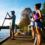 SUP lessons in Orlando Florida on Lake Ivanhoe with Get Local