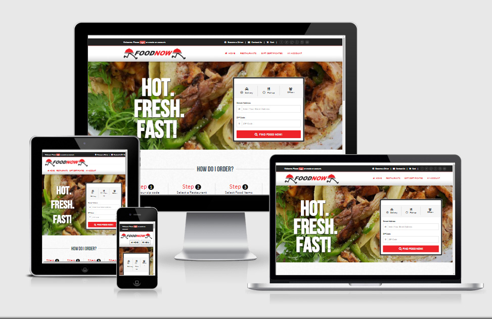 FOODNOW Restaurant Delivery Service