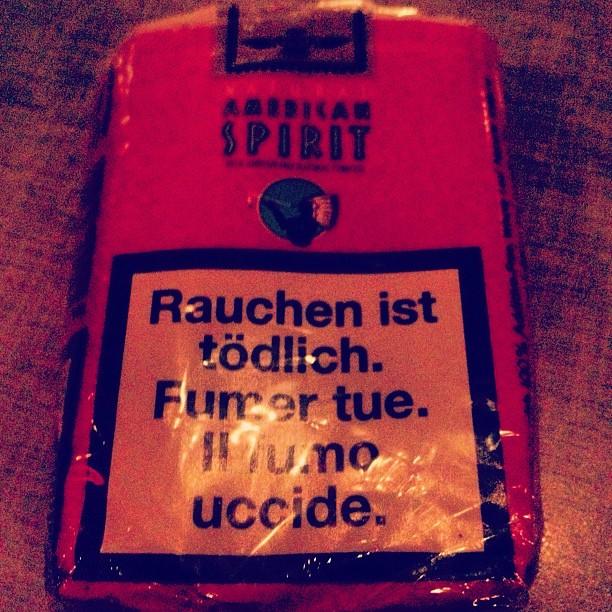 smoking#killsamerican#spirits
