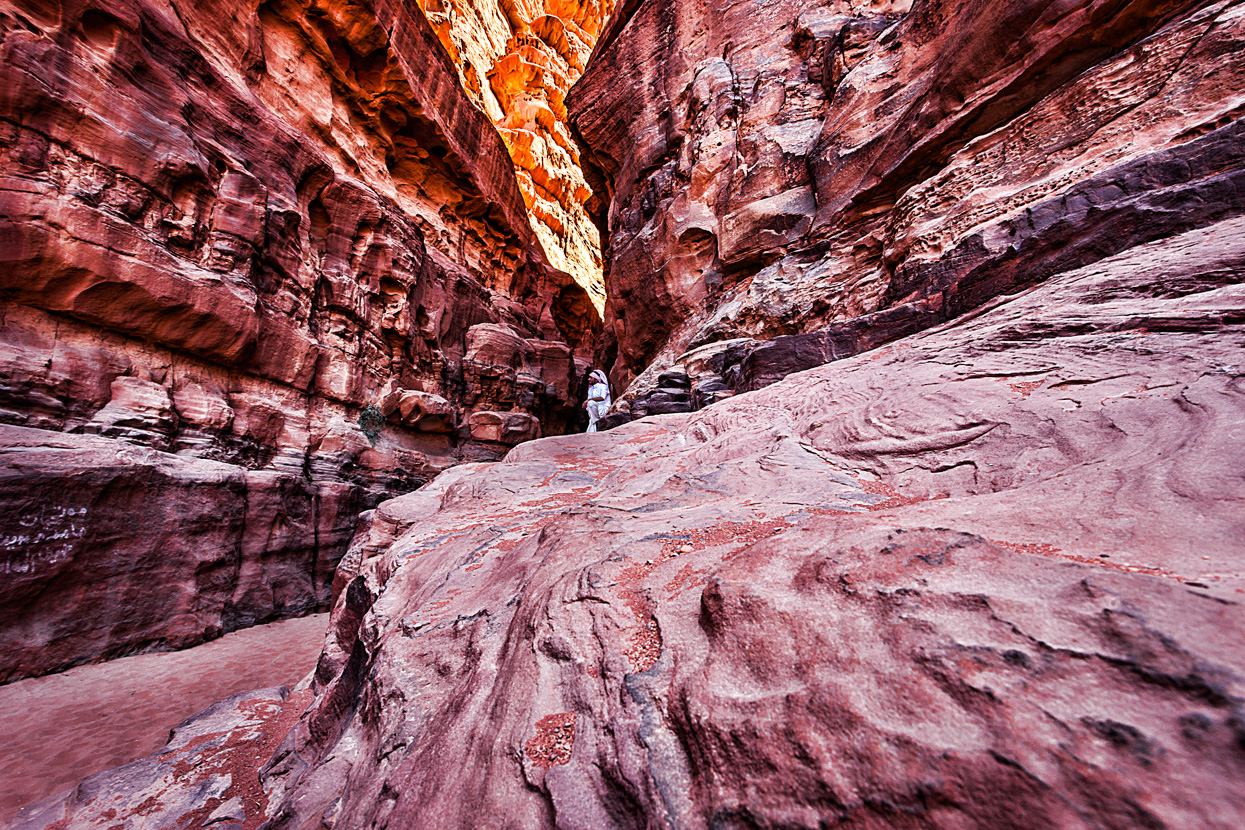Khazli Canyon, Wadi Rum