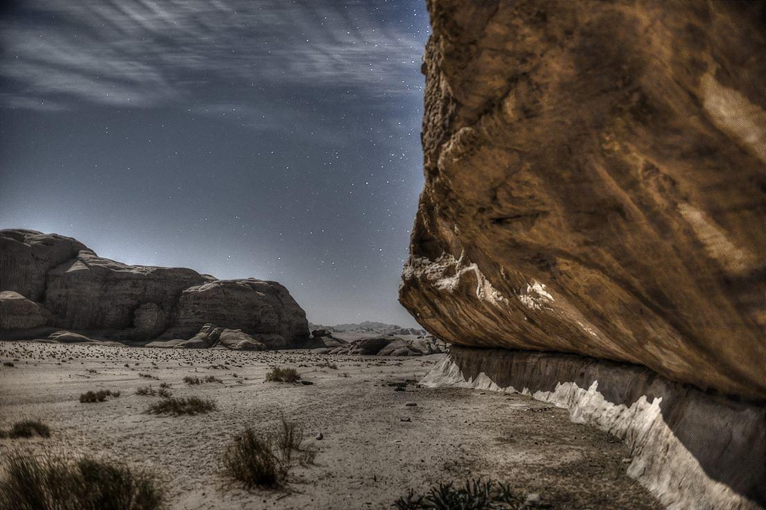 Wadi Rum Desert by Night