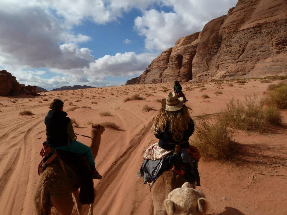 Camel Trek in Wadi Rum