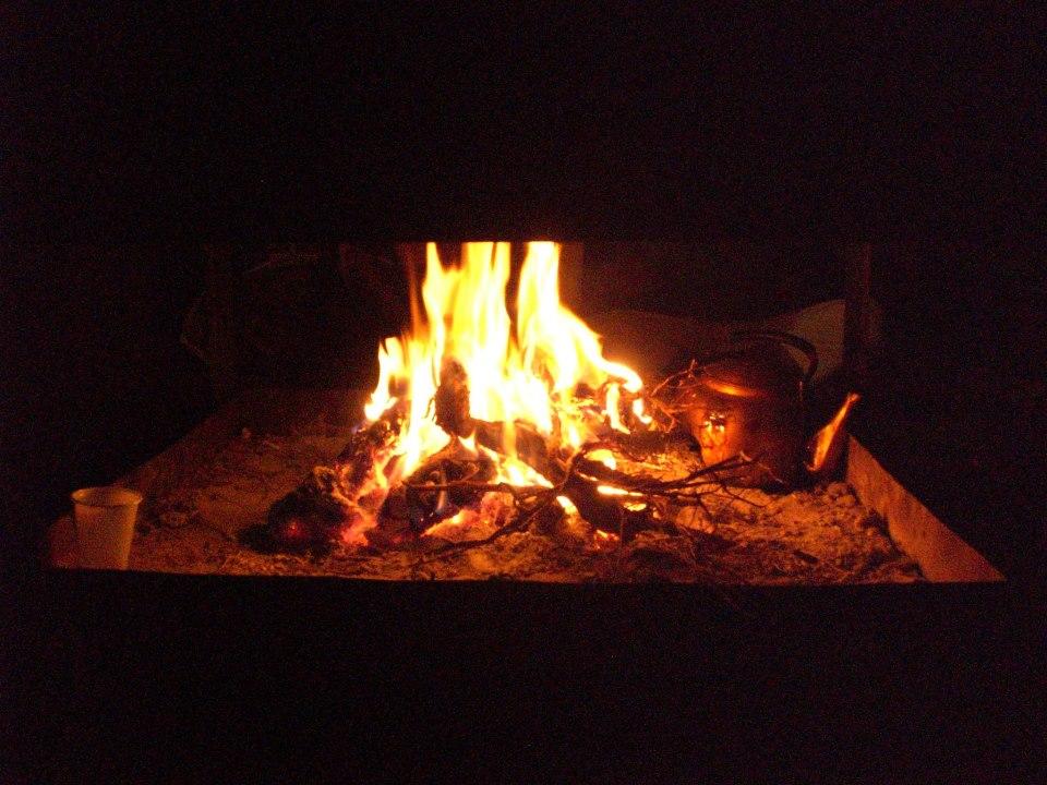 Bedouin Tea, Fire. Wadi Rum
