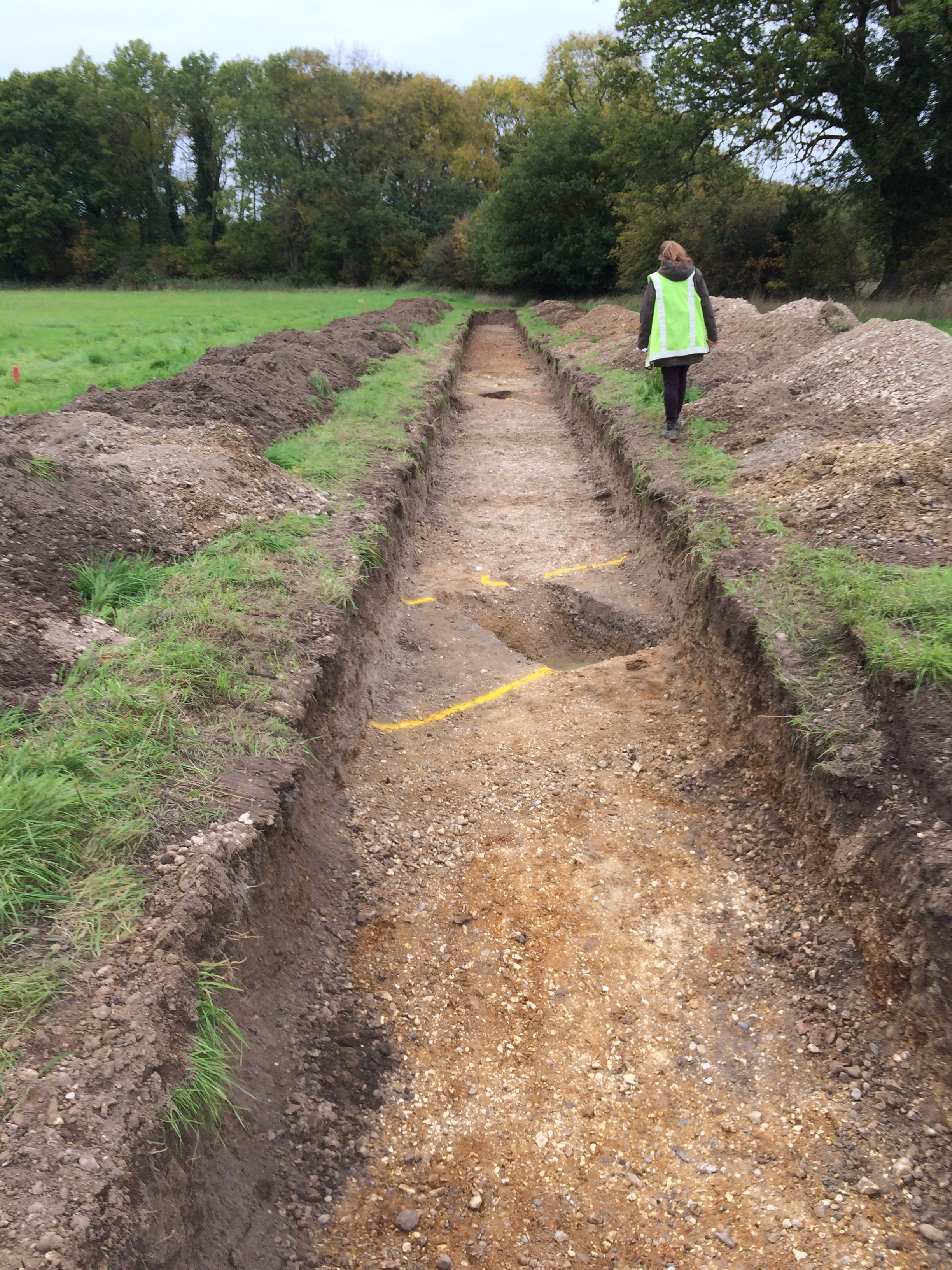 2015 trial trenching reveals Romano-British ditches