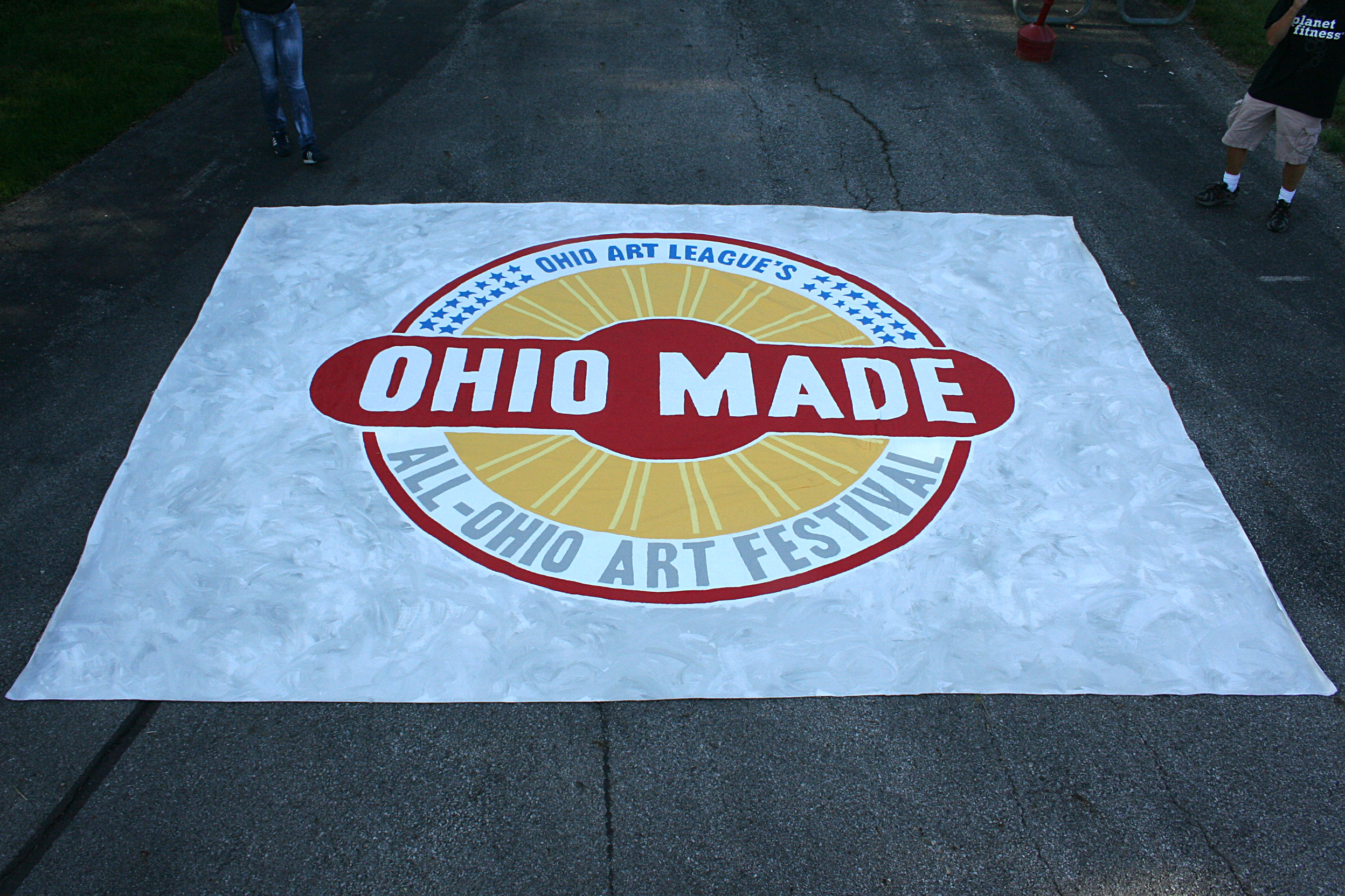 Finished Ohio Made Banner