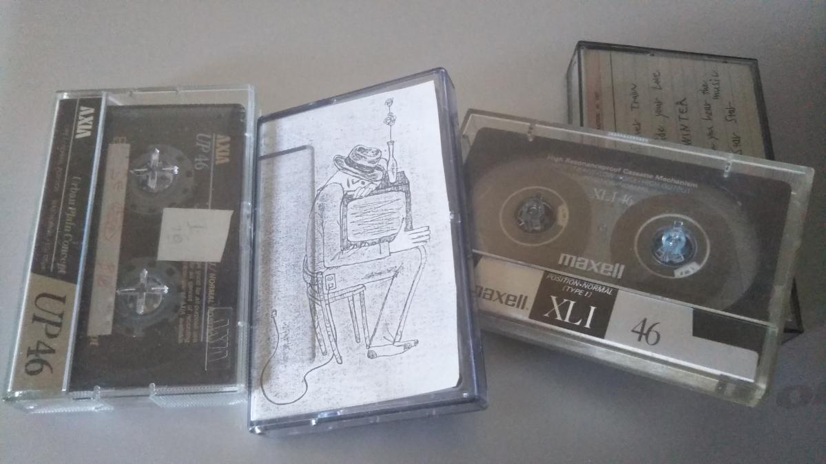 左から二つ目は盟友中村の筆による ガァズというグループのための作品だが、よかったのでコピーして使いました