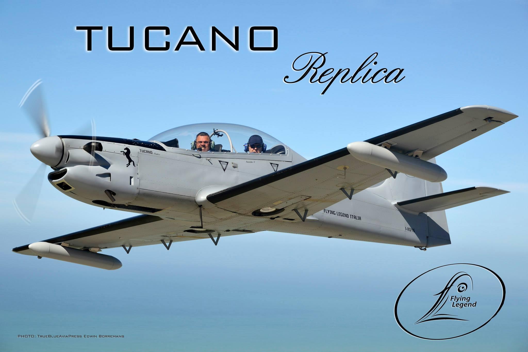 Tucano-R in flight