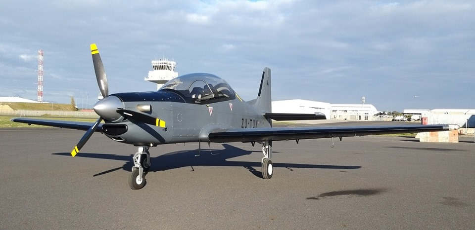 The latest Tucano Replica out of the Flying Legend stable, based in the Cape, and built by Robin Coss Aviation.